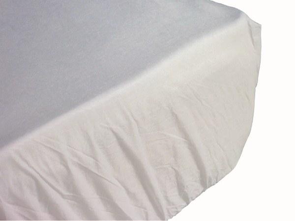 Lot de 60 draps housse imper 90 x 190 x 15cm sfpl for Drap housse plastique
