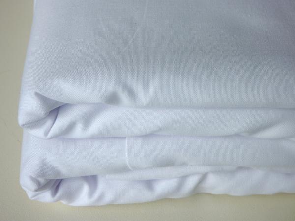 Housse de couette blanche 220 x 240 cm sfpl soci t de for Drap housse plastique