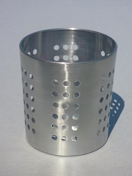 Pot inox range couvert sfpl soci t de fournitures pour for Pot a couverts cuisine