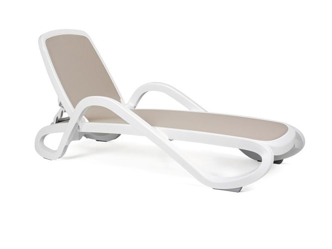 bain de soleil nardi alfa avec toile tortora sfpl soci t de fournitures pour locatifs. Black Bedroom Furniture Sets. Home Design Ideas