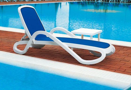 bain de soleil nardi alfa avec toile bleue sfpl soci t de fournitures pour locatifs. Black Bedroom Furniture Sets. Home Design Ideas
