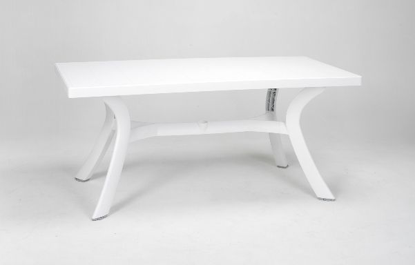 TABLE NARDI TOSCANA Blanche 160x80cm