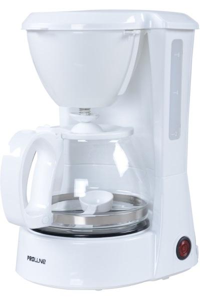 cafetiere electrique proline blanche 6 tasses sfpl. Black Bedroom Furniture Sets. Home Design Ideas
