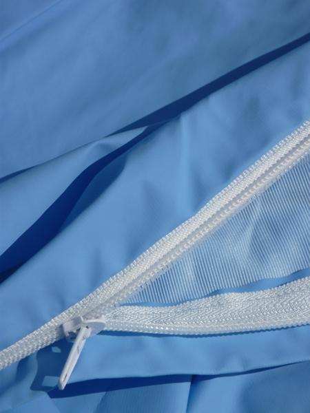 Renove matelas impermeable bleu 160 x 200 sfpl soci t de fournitures pour locatifs - Protege matelas plastifie ...