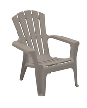 LOT DE 4 FAUTEUILS BAS MARYLAND TAUPE RAYES