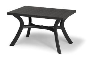 TABLE NARDI TOSCANA Anthracite 120x80cm