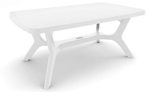 TABLE BALTIMORE 180 x 100 cm BLANCHE