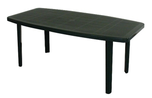 TABLE OCEAN VERTE 176x87 cm