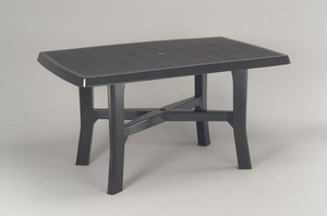 TABLE ROSA 138 x 88 CM ANTHRACITE