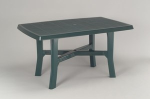 TABLE ROSA 138 x 88 CM VERTE