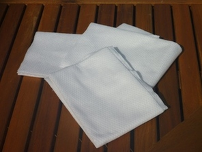 Lot de 200 TAPIS DE BAIN JETABLE 70x50cm